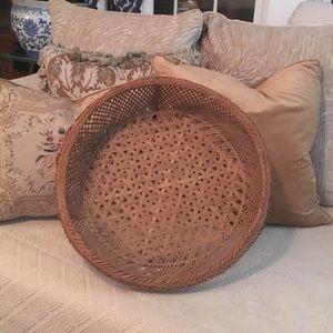 """Vintage 18"""" Basket"""
